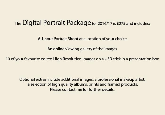 portrait pricing 2016