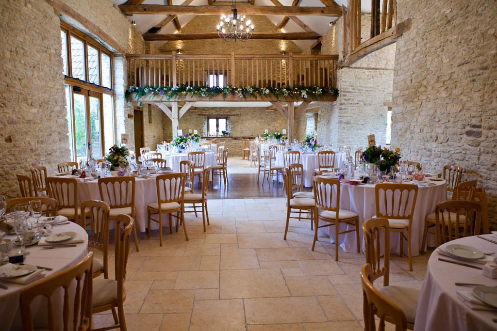 Wedding Venue; Kingscote Barn, Gloucestershire - Bath and Bristol ...